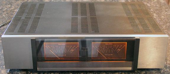 Carver mk II series audio amplifier